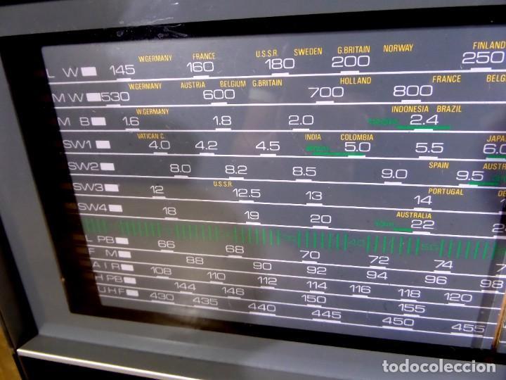 Radios antiguas: RADIO MARC NR-52F1 MULTIBANDA DOBLE CONVERSIÓN - Foto 4 - 289747008