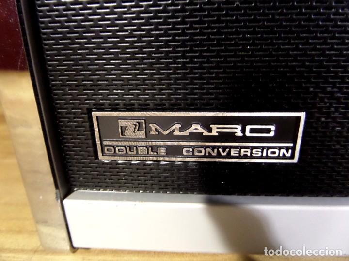 Radios antiguas: RADIO MARC NR-52F1 MULTIBANDA DOBLE CONVERSIÓN - Foto 5 - 289747008