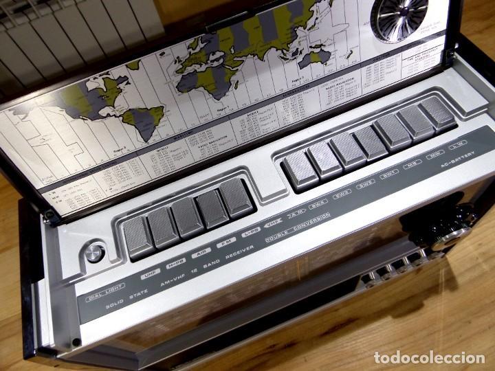 Radios antiguas: RADIO MARC NR-52F1 MULTIBANDA DOBLE CONVERSIÓN - Foto 7 - 289747008