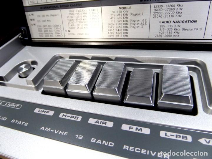 Radios antiguas: RADIO MARC NR-52F1 MULTIBANDA DOBLE CONVERSIÓN - Foto 8 - 289747008
