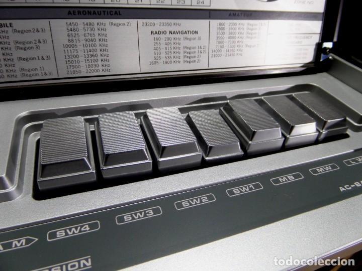 Radios antiguas: RADIO MARC NR-52F1 MULTIBANDA DOBLE CONVERSIÓN - Foto 9 - 289747008