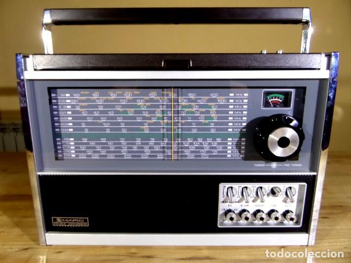 Radios antiguas: RADIO MARC NR-52F1 MULTIBANDA DOBLE CONVERSIÓN - Foto 19 - 289747008
