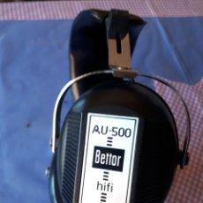 Radios antiguas: AURICULARES HIFI BETTOR AU 500. Lote 291874863