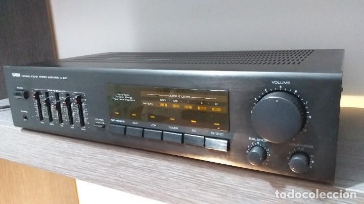 Radios antiguas: *** YAMAHA ** AMPLIFICADOR DE SONIDO ** A 230 ** Reproductor amplificador hifi de Yamaha.***. sonido - Foto 5 - 293515513