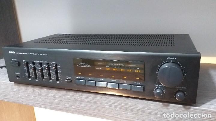 Radios antiguas: *** YAMAHA ** AMPLIFICADOR DE SONIDO ** A 230 ** Reproductor amplificador hifi de Yamaha.***. sonido - Foto 14 - 293515513