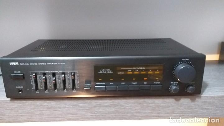 Radios antiguas: *** YAMAHA ** AMPLIFICADOR DE SONIDO ** A 230 ** Reproductor amplificador hifi de Yamaha.***. sonido - Foto 15 - 293515513