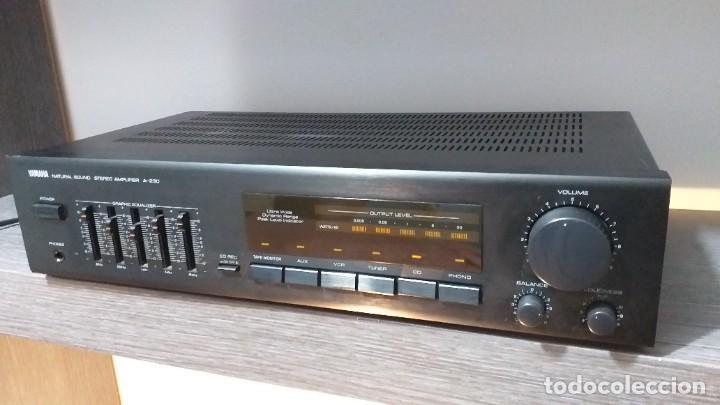 Radios antiguas: *** YAMAHA ** AMPLIFICADOR DE SONIDO ** A 230 ** Reproductor amplificador hifi de Yamaha.***. sonido - Foto 16 - 293515513