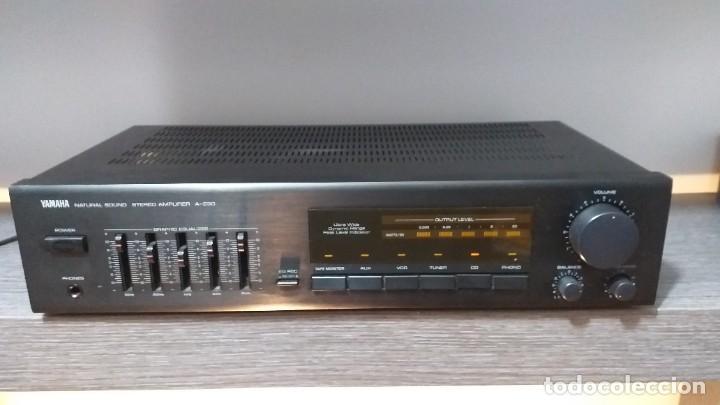 Radios antiguas: *** YAMAHA ** AMPLIFICADOR DE SONIDO ** A 230 ** Reproductor amplificador hifi de Yamaha.***. sonido - Foto 18 - 293515513