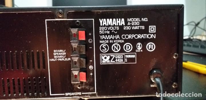 Radios antiguas: *** YAMAHA ** AMPLIFICADOR DE SONIDO ** A 230 ** Reproductor amplificador hifi de Yamaha.***. sonido - Foto 29 - 293515513