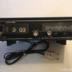 Radios antiguas: RADIO DESPERTADOR VINTAGE DE PLAQUETAS MARCA HARVARD CARDINAL ( ALEMAN ). Lote 293892173