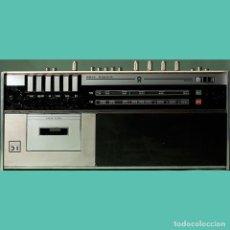 Radios antiguas: COLECCIONISMO. MÚSICA. RADIO CASETTE VINTAGE, KÖNIGER STEREO 5100. Lote 297074338