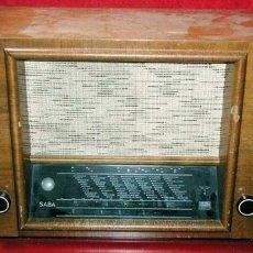 Radios de válvulas: RADIO SABA . Lote 6004705
