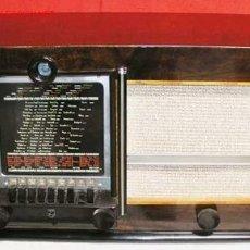 Radios de válvulas: RADIO PHILIPS FUNCIONANDO. Lote 7051871