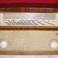 Radios de válvulas: RADIO RADIOLA FUNCIONANDO. Lote 6251646
