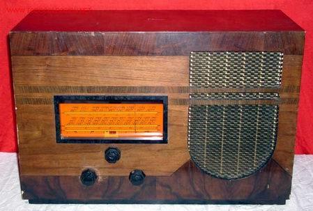 RADIO MARCONI AÑOS 30 (Radios, Gramófonos, Grabadoras y Otros - Radios de Válvulas)