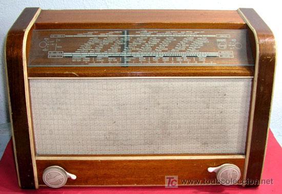 RADIO PHILIPS 790 U 19 (Radios, Gramófonos, Grabadoras y Otros - Radios de Válvulas)