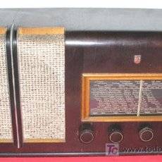 Radios de válvulas: RADIO PHILIPS. Lote 7367740
