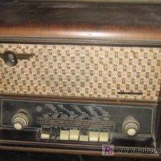 Radios de válvulas: RADIO TELEFUNKEN A-4167 ALLE GRETTO. Lote 25330108