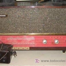 Radios de válvulas: RADIO ASKAR CON ELEVADOR-REDUCTOR. Lote 24392550