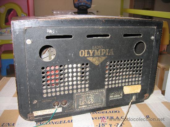Radios de válvulas: Preciosa y antigua radio OLYMPIA - Foto 2 - 27430774