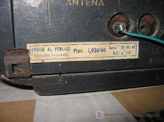 Radios de válvulas: Preciosa y antigua radio OLYMPIA - Foto 3 - 27430774