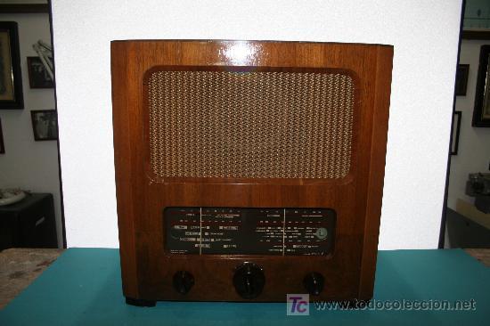 RSDIO ANTIGUO (Radios, Gramófonos, Grabadoras y Otros - Radios de Válvulas)