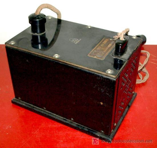 ELIMINADOR DE BATERIAS RADIOLA AÑO 1928 (Radios, Gramófonos, Grabadoras y Otros - Radios de Válvulas)