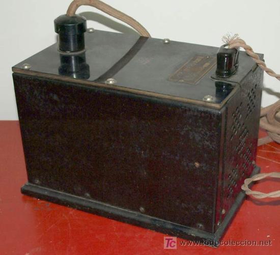Radios de válvulas: ELIMINADOR DE BATERIAS RADIOLA AÑO 1928 - Foto 2 - 12479735