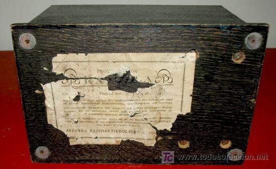 Radios de válvulas: ELIMINADOR DE BATERIAS RADIOLA AÑO 1928 - Foto 8 - 12479735