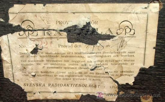 Radios de válvulas: ELIMINADOR DE BATERIAS RADIOLA AÑO 1928 - Foto 9 - 12479735