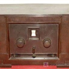 Radios de válvulas: RADIO GEARET 301 WT C1930 DE BAQUELITA. Lote 7686494