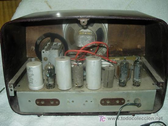 Radios de válvulas: Radio IBERIA Mod. D-132 NO FUNCIONA - Foto 3 - 27095020