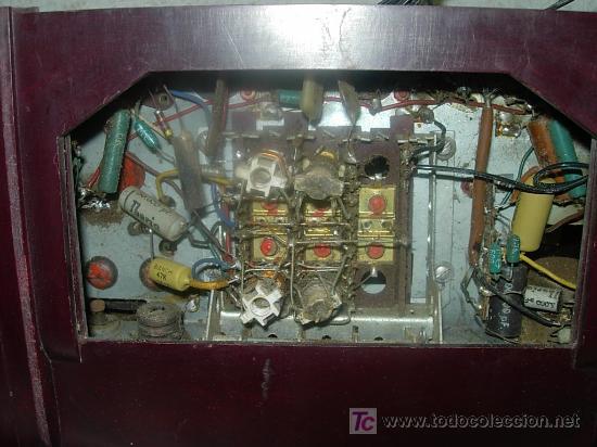 Radios de válvulas: Radio IBERIA Mod. D-132 NO FUNCIONA - Foto 2 - 27095020