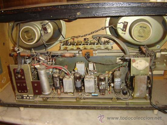 Radios de válvulas: radio valvula Erres - Foto 2 - 8731436