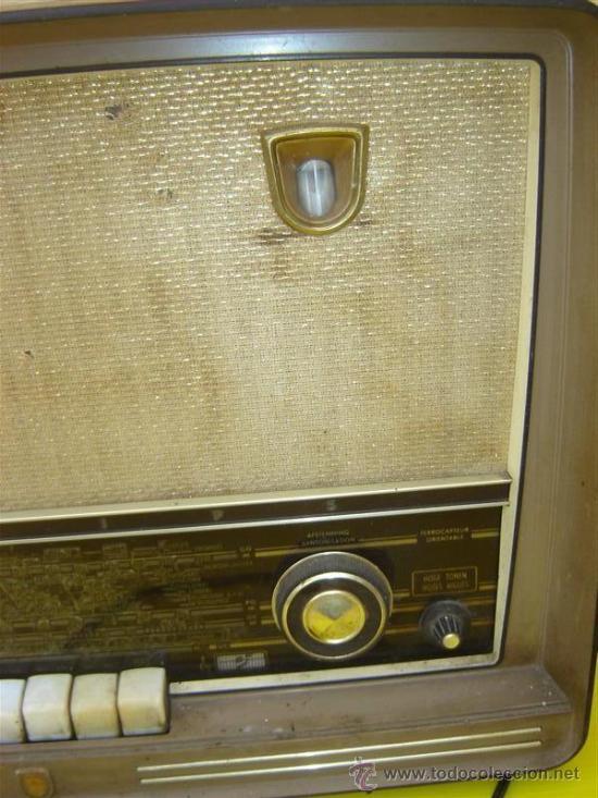 Radios de válvulas: radio baquelita - Foto 2 - 8794713