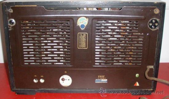 Radios de válvulas: RADIO BLAUPUNKT 6W97 FUNCIONANDO - Foto 3 - 5955043