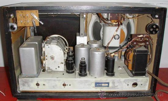 Radios de válvulas: RADIO BLAUPUNKT 6W97 FUNCIONANDO - Foto 4 - 5955043