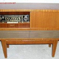 Radios de válvulas: RADIO TOCADISCOS KONGO. Lote 12479700