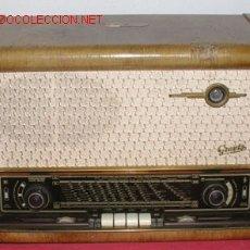 Radios de válvulas - RADIO GRAETZ SUPER 171W FUNCIONANDO - 8688507