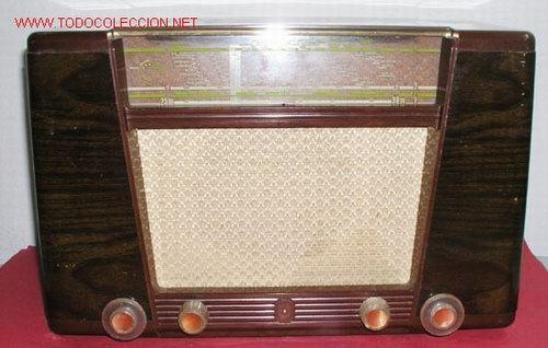 Radios de válvulas: RADIO PHILIPS FUNCIONANDO - Foto 2 - 12479838