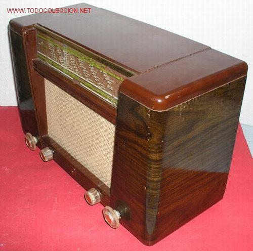 Radios de válvulas: RADIO PHILIPS FUNCIONANDO - Foto 4 - 12479838
