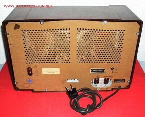 Radios de válvulas: RADIO PHILIPS FUNCIONANDO - Foto 5 - 12479838