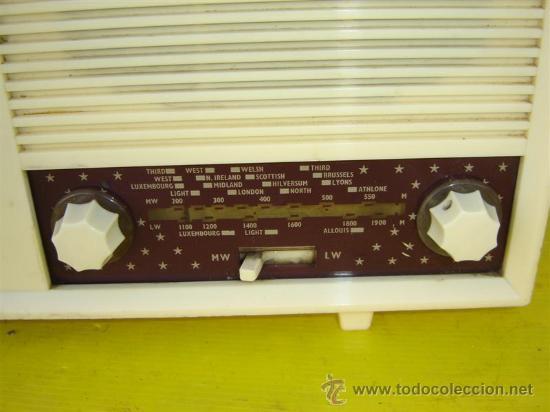 Radios de válvulas: radio de valvula ekco - Foto 3 - 10580986