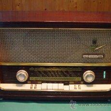 Radios de válvulas: RADIO DE VALVULAS GRUNDIG 2067, FUNCIONANDO A 220V...SANNA. Lote 24217701