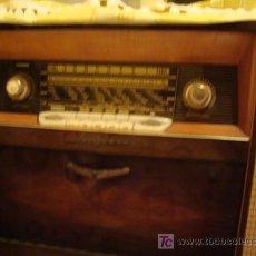 Radios de válvulas: MAGNIFICA RADIO MUEBLE, DECORACION. Lote 26615575