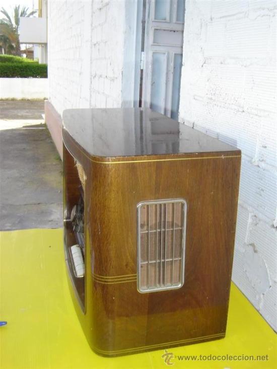 Radios de válvulas: radio antigua Braun - Foto 2 - 12456613