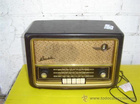 RADIO ANTIGUA BUSH (Radios, Gramófonos, Grabadoras y Otros - Radios de Válvulas)