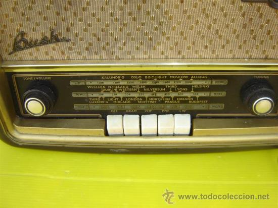 Radios de válvulas: radio antigua Bush - Foto 2 - 12456659
