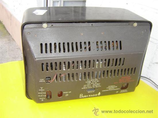 Radios de válvulas: radio antigua Bush - Foto 3 - 12456659