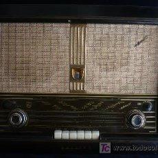 Radios de válvulas: RADIO PHILIPS BI AMPLI. OJO MAGICO. OM.OC. 66-42-23. Lote 26973766